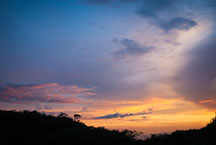 Sunset. Monteverde, Costa Rica. - Photo #14195
