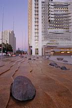 Waterscape. San Jose City Hall, San Jose, California, U.S.A. - Photo #14504