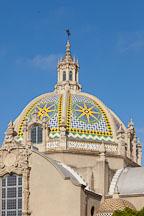 California Dome with mosaic tiles. Balboa Park, San Diego. - Photo #26016