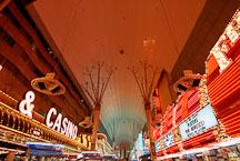 Fremont street. Las Vegas, Nevada, USA. - Photo #13716