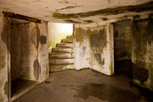 Interior of Battery Russell. Fort Stevens, Oregon. - Photo #28516