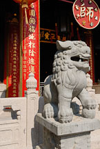Foo Dog at the Wong Tai Sin Temple. Hong Kong, China. - Photo #15779