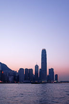 Sunset. Hong Kong, China. - Photo #15913
