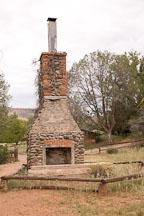 Fireplace of the V-Bar-V Ranch. Arizona, USA. - Photo #17817