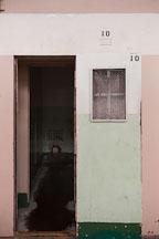 D block solitary confinement cells. Alcatraz, California. - Photo #28917