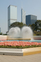 Fountains in Hong Kong Park. Hong Kong, China. - Photo #16450