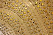 Ceiling of Union Station. Washington, D.C. - Photo #29118