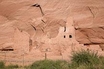 Close-up of ruin at Antelope House. Canyon de Chelly NM, Arizona. - Photo #18118