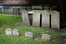 Headstones at Westminster Hall Cemetery. Baltimore, Maryland, USA. - Photo #3918