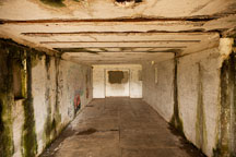 Interior room at Battery Russell. Fort Stevens, Oregon. - Photo #28518