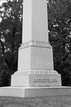 Rockefeller monument. Lake View Cemetery, Cleveland, Ohio, USA - Photo #4218