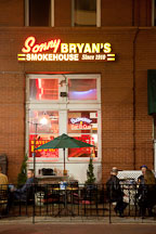 Sonny Bryan's Smokehouse restaurant. Dallas, Texas. - Photo #25118