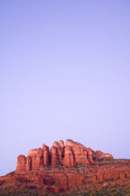 Backside of Cathedral Rock. Sedona, Arizona. - Photo #17657