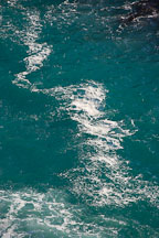 Close-up of the blue-green water in McWay Cove. Big Sur, California, USA. - Photo #17073
