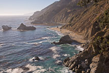 California coast. Big Sur, California, USA. - Photo #17039