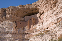 Cliff Dwellings. Montezuma Castle National Monument, Arizona, USA. - Photo #17593