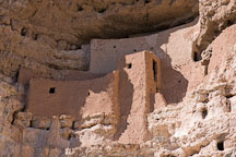 Close-up of Montezuma Castle. Arizona, USA. - Photo #17566