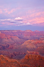 Grand Canyon at dusk. Grand Canyon NP, Arizona. - Photo #17351