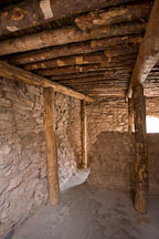 Inside pueblo room. Tuzigoot National Monument, Arizona, USA, - Photo #17697