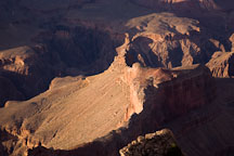 Light and dark in the Grand Canyon. Grand Canyon NP, Arizona. - Photo #17304