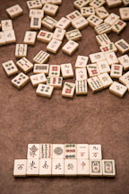 Mahjong winning hand. Thirteen unique wonders or the thirteen odds - Photo #17180