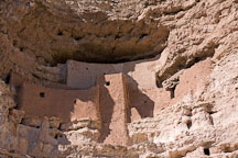 Montezuma Castle was built by Pre-Columbian Sinagua people. Arizona, USA. - Photo #17570