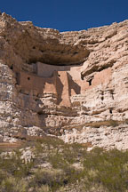 Montezuma Castle is located near Camp Verde. Arizona, USA. - Photo #17572