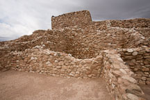 Pueblo at Tuzigoot. Arizona, USA. - Photo #17670