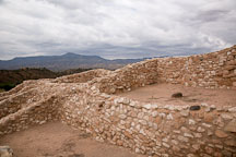 Pueblo rooms. Tuzigoot National Monument, Arizona, USA. - Photo #17699