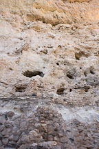 Remains of Castle A at Montezuma Castle National Monument. Arizona, USA. - Photo #17588