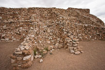 Tuzigoot is the remnant of a Sinagua village. Tuzigoot National Monument, Arizona, USA. - Photo #17708