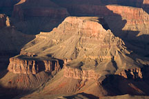 Late afternoon light on the Canyon. Grand Canyon NP, Arizona. - Photo #17316