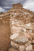 Sinagua ruins. Tuzigoot National Monument, Arizona, USA. - Photo #17684