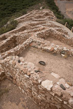 Tuzigoot village. Tuzigoot National Monument, Arizona, USA. - Photo #17692