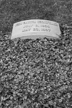 Burial place of John Davison Rockefeller. Lake View Cemetery. Cleveland, Ohio, USA - Photo #4219