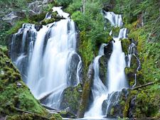National Creek Falls, Oregon. - Photo #27519