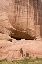 White House Anasazi Ruins. Canyon de Chelly NM, Arizona. - Photo #18245
