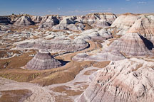 Blue Mesa badlands. Petrified Forest NP, Arizona. - Photo #18004