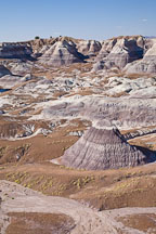 Blue Mesa. Petrified Forest NP, Arizona. - Photo #18007