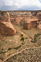 View of Canyon del Muerto. Canyon de Chelly, Arizona. - Photo #18383