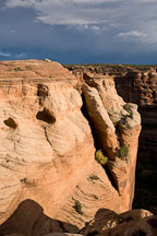 Canyon del Muerto walls. Canyon de Chelly NM, Arizona. - Photo #18521