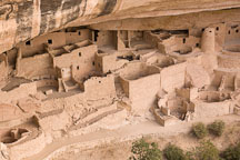 Cliff Palace, an Acestral Puebloan ruin. Mesa Verde NP, Colorado. - Photo #18533