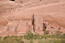 Crumbled remains of the White House Ruin. Canyon de Chelly NM, Arizona. - Photo #18232