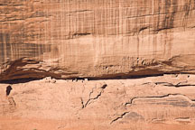 Face Rock Overlook Ruins. Canyon de Chelly NM, Arizona. - Photo #18276