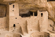 Four story tower at Cliff Palace. Mesa Verde NP, Colorado. - Photo #18541