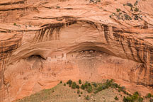 Mummy cave ruin. Canyon de Chelly NM, Arizona. - Photo #18365