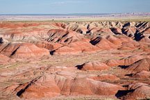 Painted Desert vista. Petrified Forest NP, Arizona. - Photo #18040