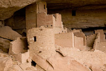 Cliff Palace rooms. Mesa Verde NP, Colorado. - Photo #18568