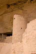 Tower at Cliff Palace. Mesa Verde NP, Colorado. - Photo #18592