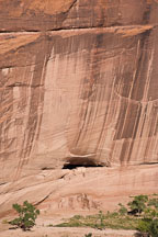White House Ruins and canyon wall. Canyon de Chelly NM, Arizona. - Photo #18260